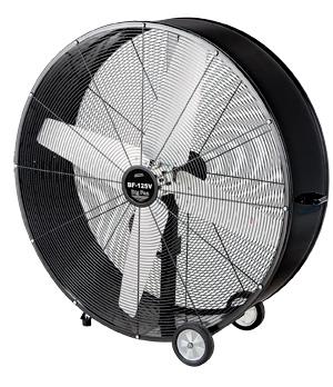 【法人向送料無料】【代引き不可】☆ナカトミ BF-125V 125cmアルミハネ ビッグファン 全閉式 単相100V 大型循環送風機 【車上渡し】