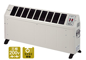 【法人向け送料無料】【代引き不可】☆ナカトミ NCH-30 自然対流式電気ヒーター 三相200V 50Hz/60Hz 暖房機
