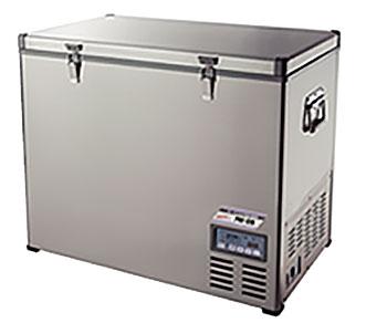 【法人向送料無料】【代引き不可】☆ナカトミ PRF-128 ポータブル冷凍冷蔵庫 大容量128L クーラーボックス 車載