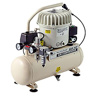 【法人向送料無料】【代引き不可】☆ナカトミ SCP-10T サイレントコンプレッサー エアータンク容量10L 省エネ エアーツール用 圧縮空気
