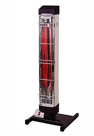 【法人向け送料無料】【代引き不可】☆ナカトミ IFH-10TP 遠赤外線電気ヒーター 単相200V 消費電力1.7KW 電源コードなし 暖房機