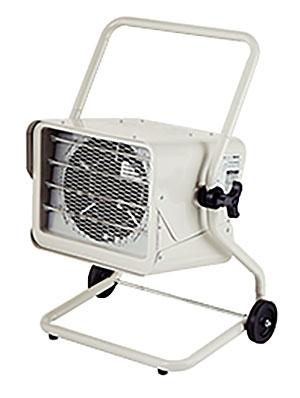 【法人向送料無料】【代引き不可】☆ナカトミ TEH-50 電気ファンヒーター 三相200V スポット暖房 (電源コードなし、据付工事必要) 暖房機