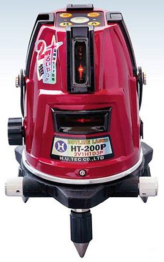 【数量限定】☆H.U.TEC(ハンウェイテック) ドットレーザー墨出し器 傾斜機能付 本体とケースのみ