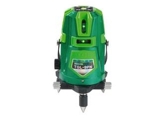 【代引き不可】☆TAKAGI/高儀 TGL-9PN グリーンレーザー墨出し器 (受光器・三脚付・リチウム電池)