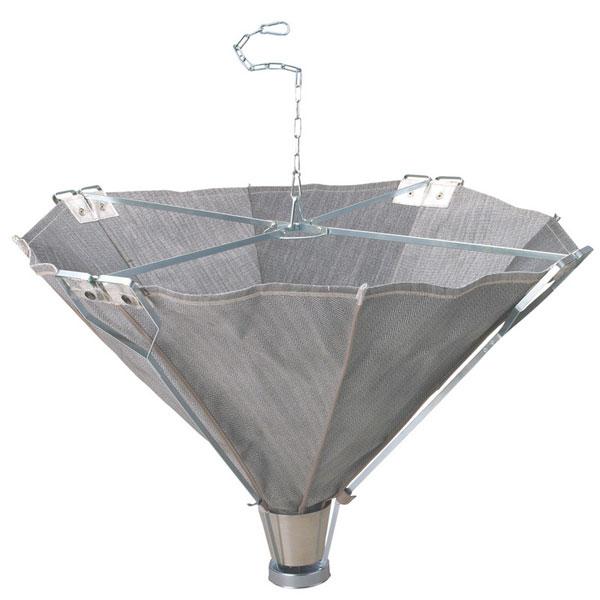 【代引き不可】☆大中産業 KA-2100 火雨守 こうもり 高所溶接用火花受け傘