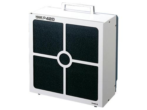 ☆白光/ハッコー 420-1 ハッコー420 100V (ビニール平型プラグ付)吸煙器  コード(1295004)