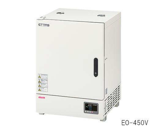 【代引き不可】☆アズワン ETTAS 定温乾燥器 (タイマー・自然対流式) EO-450V 91L (出荷前点検検査書付き) (1-7477-42)
