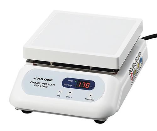 【送料無料】☆アズワン CHP-170DF セラミックホットプレート (デジタルタイプ) 550℃ 175×178mm (1-9387-41)