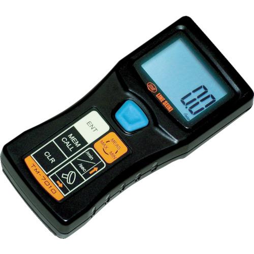 ☆ライン精機 TM-7010 レーザー式ハンドタコメータ 回転計 (多機能タイプ)