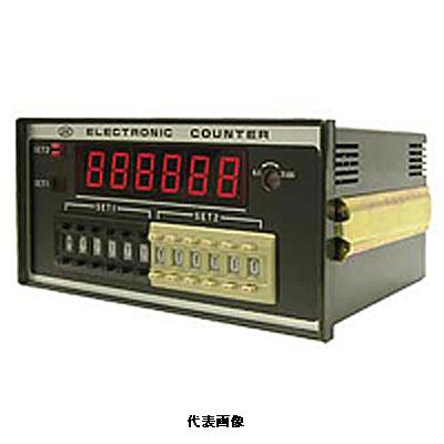 ☆ライン精機 MDR-266M 電子カウンタ 6桁表示 メモリ機能付 2段設定