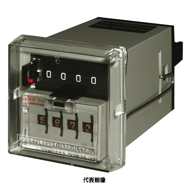 ☆ライン精機 MB-5111-AC200V 電磁カウンタ AC200V 5桁・クリップバネ取付・手動押しボタン式リセット