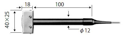 ☆ライン精機 KF-14A 熱電対プローブ 回転体用、凸面用