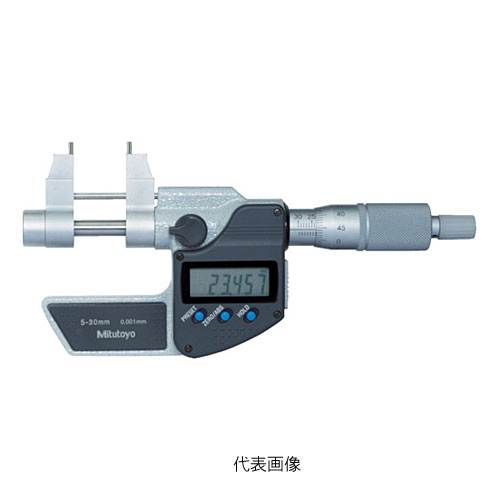 ☆ミツトヨ/Mitutoyo IMP-30MX 345-250-30 デジマチックキャリパー形内側マイクロメーター