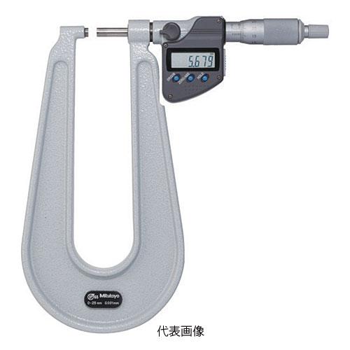 ☆ミツトヨ/Mitutoyo PMUD150-25MX 389-271-30 U字形鋼板マイクロメータ 一般校正付