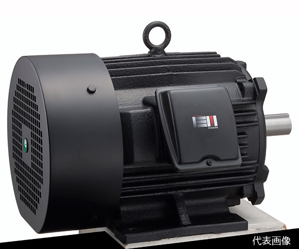 【代引き不可】☆富士電機 MLU1133A 5.5kW 4P 400V 脚取付形 屋内 全閉外扇形 低圧三相プレミアム効率モータ 【返品不可】
