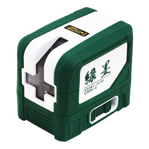 コンパクトサイズのプロ仕様レーザー墨出し器 ☆新潟精機 SK GMW-4 緑墨 本日の目玉 グリーンレーザー墨出し器 RYOKU-ZUMI セール特価