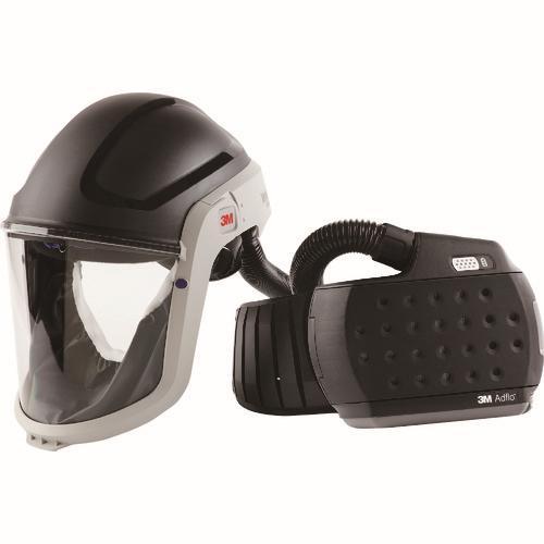 ☆3M/スリーエム JADM-307J アドフロー 電動ファン付き呼吸用保護具 フェイスシールド  コード(7955804) 送気マスク