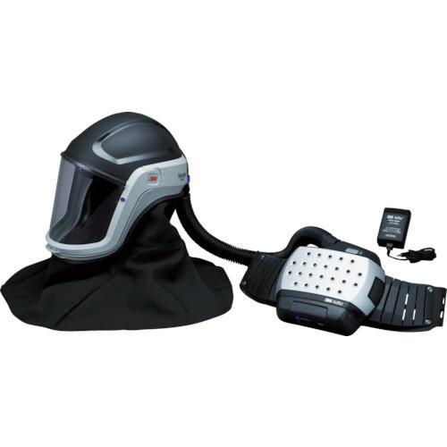 ☆3M/スリーエム JADM-407J アドフロー 電動ファン付き呼吸用保護具 フードタイプ  コード(7737505) 送気マスク