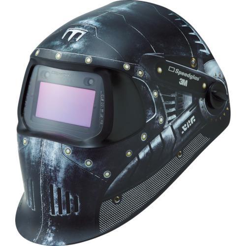 ☆3M/スリーエム 751620 溶接用自動遮光面 スピードグラス 100V グラフィックタイプ ウォーリアー  コード(7953348)