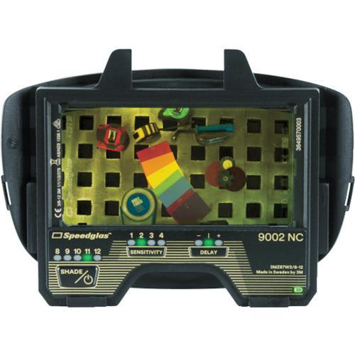 ☆3M/スリーエム 400085 自動遮光溶接面 スピードグラス 液晶フィルター 9002NC  コード(1156500)