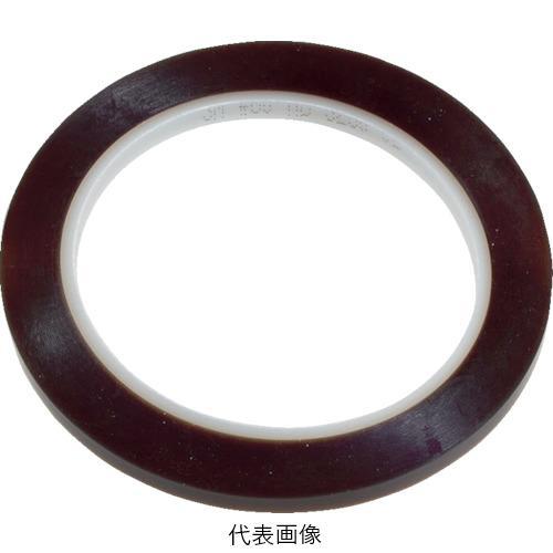☆3M/スリーエム 60 12 PTFEテープ電気絶縁テープ60 淡茶色 12mmX32.9m 1巻  コード(4799381)