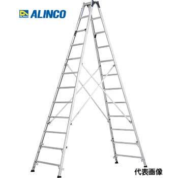 【代引き不可】☆ALINCO/アルインコ MXB-390F 長尺専用脚立 幅広踏ざん 天板高さ 3.77m 最大使用質量100kg 業務用専用脚立【時間指定不可】