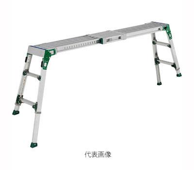 転落を未然に防止する安全機能 足裏感知板 を採用しています 代引き不可 ☆ALINCO アルインコ VSR-1709FX 1.18~1.75m [宅送] 時間指定不可 公式 伸縮脚付足場台 VSR1709FX 伸縮天板 最大使用質量120kg