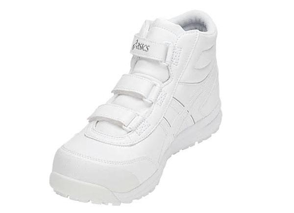 【NEW】☆アシックス/ASICS  作業靴 ウィンジョブ CP302 ホワイト×ホワイト 安全靴 スニーカー・ハイカット ベルトタイプ (22.5cm~30.0cm)FCP302-100 【RCP】