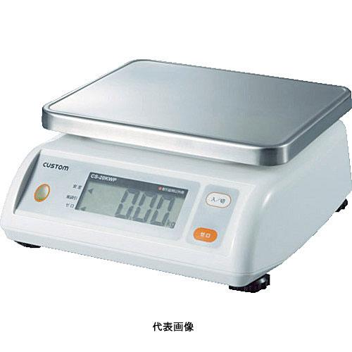 ☆カスタム CS-5000WP デジタル防水はかり 2g/5000g  コード(3651789)