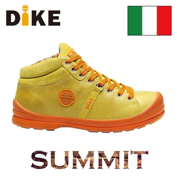 【送料無料】☆ディーケ/DIKE 安全靴 サミット/SUMMIT オリーブ 27021-501 男性用作業靴