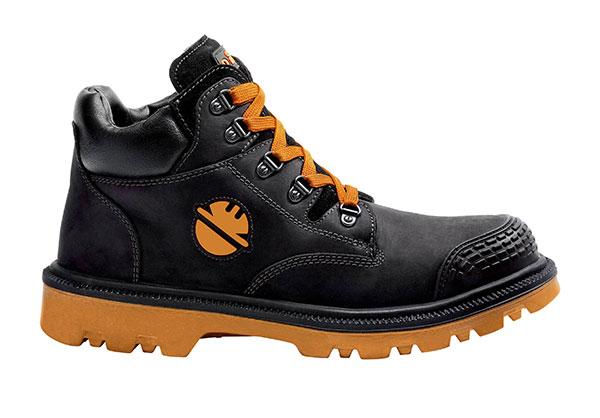 ☆ディーケ/DIKE 21021-300 男性用作業靴 ディガー/DIGGER エスプレッソブラック イタリア製 安全靴