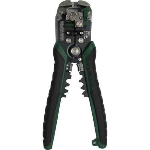 電線の被覆むきが電線径自動調節で素早くできます ☆エンジニア 安い PAW-01 限定価格セール 電線径自動調整機能付き マルチワイヤーストリッパー