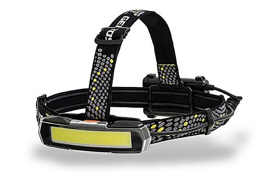 ワイドビームで広範囲をムラなく照射 ☆GENTOS ジェントス NRX-180H 業界No.1 コード 特価 1609103 COB LED搭載ヘッドライト