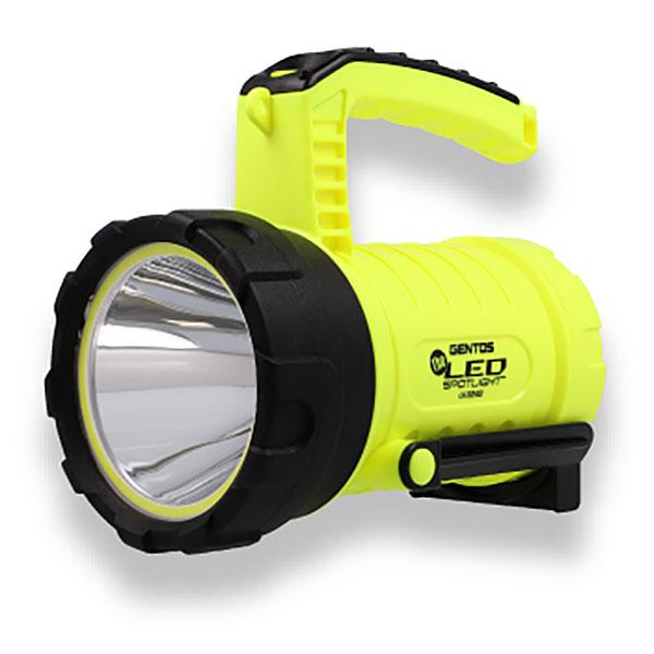 広範囲を照射するCOB 入手困難 LEDを搭載したスポットライト ☆GENTOS ジェントス LK-524D 2505615 コード セール特別価格 524D COB チップタイプLED搭載強力ライト