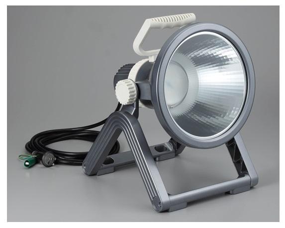 ☆ハタヤ 30W LEDプロライト 屋外用 フロアスタンド型 LF-30