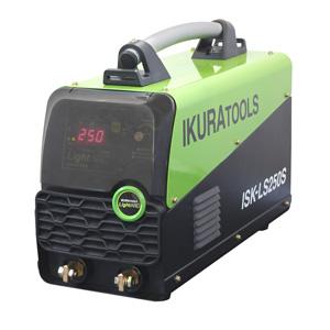 ☆育良精機/イクラ ライトアーク ISK-LS250S インバータ制御直流アーク溶接機(電撃防止機能付) 単相200V 20A~250A EMS対策商品
