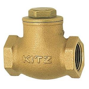 ☆KITZ/キッツ 青銅 スイングチャッキバルブ125型 R-3 (80A) R-80A