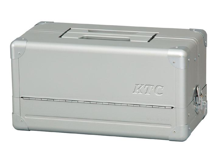 ☆KTC/京都機械工具 EK-1A 両開きメタルケース シルバー