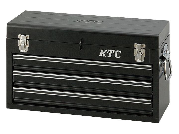 ☆KTC/京都機械工具 SKX0213BK チェスト (3段3引出) ソリッドブラック 工具箱