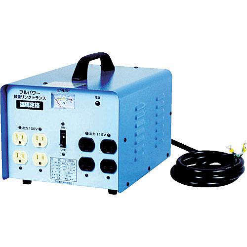 ☆日動 TB-500D 変圧器 降圧専用トラパック 5KVA  コード(2742225)