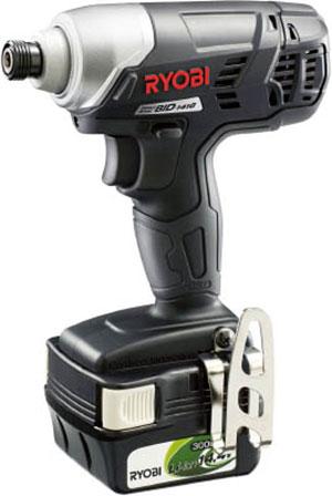 ☆京セラ/リョービ プロ用充電式インパクトドライバ BID-1416 14.4V 3,000mAh (657702A)