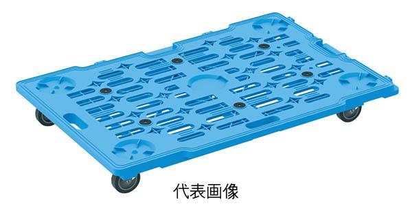 【代引き不可】☆サカエ SCR-M900EQBX サカエメッシュキャリー(五輪車仕様・10台セット) 組立式 平台車 運搬機器