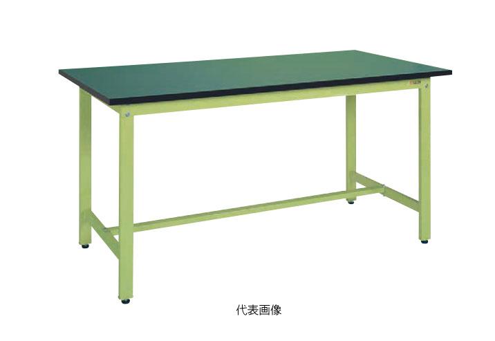 【代引き不可】【送料無料】☆サカエ KK-38FE 軽量作業台KKタイプ(RoHS10指令対応) サカエリューム天板 W900×D600×H740mm グリーン (039151)