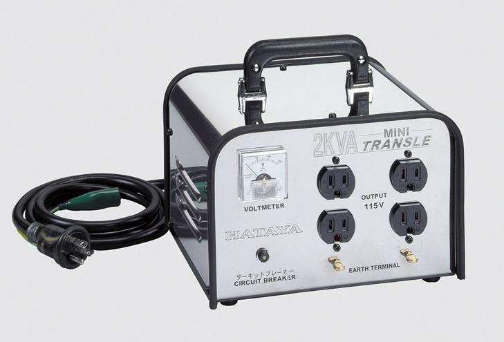 ☆ハタヤ ミニトランス(昇圧型) HV-02C