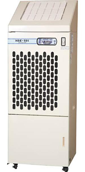 【法人向け送料無料】【代引き不可】☆静岡製機 HSE551 気化式加湿機 単相100V 静電気の抑制 業務用加湿機 【日時指定・返品不可】