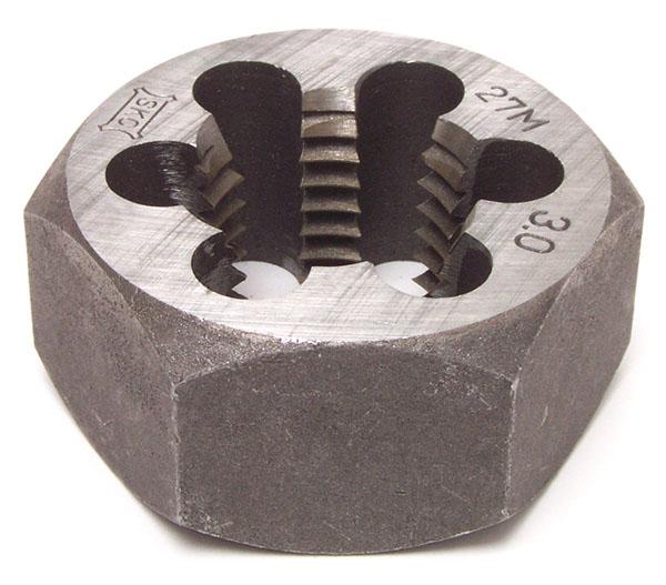 6角ナット用スパナにはめてボルトネジさらえに使用します メール便対応 ☆エスケーシー SKC 六角サラエナットダイス M16x2.0 メートル並目ねじ用 ネジさらえ メーカー在庫限り品 卓出 ねじ山修正