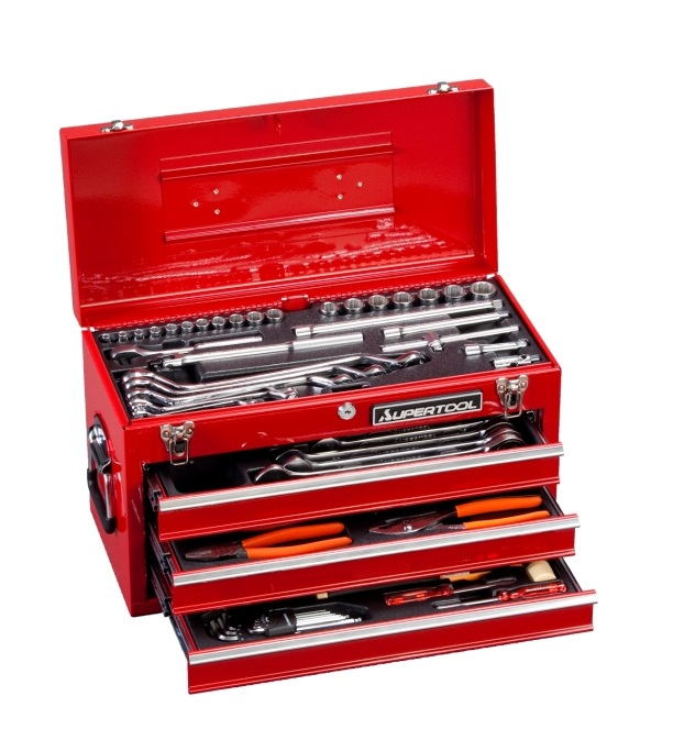 ☆スーパーツール プロ用デラックス工具セット S8000DX コード(4093879)