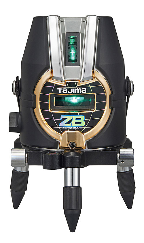 【5月下旬以降出荷予定】【NEW】☆TAJIMA/タジマ ZEROB-KY ゼロブルーKY (ZERO BLUE-KY) ブルーグリーンレーザー墨出し器 本体のみ ジンバル式レーザー 単三形乾電池×4本仕様 矩 横