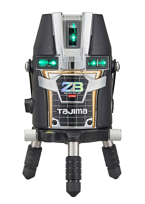 【5月下旬以降出荷予定】【NEW】☆TAJIMA/タジマ ZEROBL-KJC ゼロブルーリチウム-KJC (ZERO BLUEリチウム‐KJC) ブルーグリーンレーザー墨出し器 本体のみ ジンバル式レーザー リチウムイオン充電池7424仕様 矩十字 横全周
