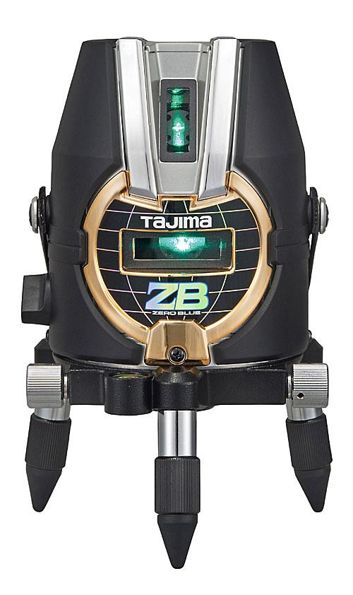【2月末以降出荷予定】【NEW】☆TAJIMA/タジマ ZEROB-TYZ ゼロブルーTYZ (ZERO BLUE-TYZ) ブルーグリーンレーザー墨出し器 本体のみ ジンバル式レーザー 単三形乾電池×4本仕様 縦 横